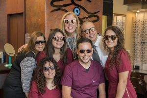 Marie Tartibi Eye Care Center Staff and building photography in Lake Mary & Orlando, FL