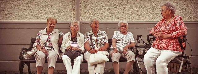 Group of Older Women with Low Vision