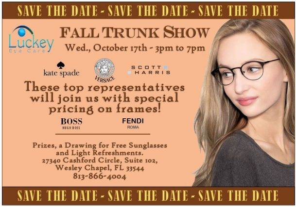 Fall Trunk Show Save the Date
