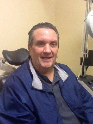 John came in from Charlotte NC for Scleral Lenses for Keratoconus and post corneal graft