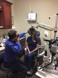 Dr. Belill Exam - Clio eye exam
