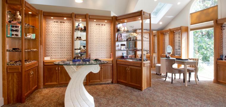 interior of Elgart Gordon & Associates Eye Doctors in in Connecticut