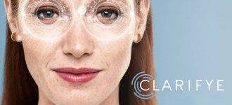 Woman in Ad for Clarifeye, Palm Beach Gardens