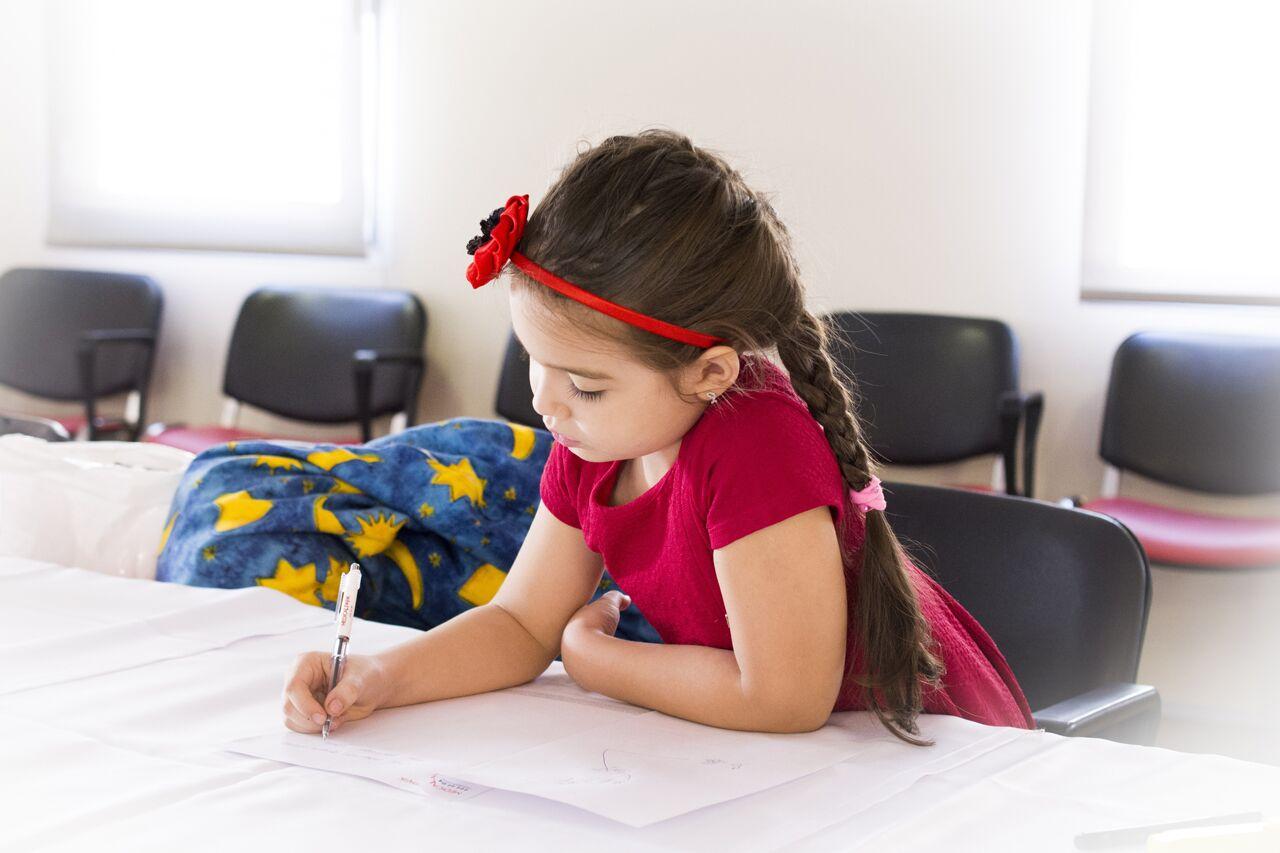 girl in school