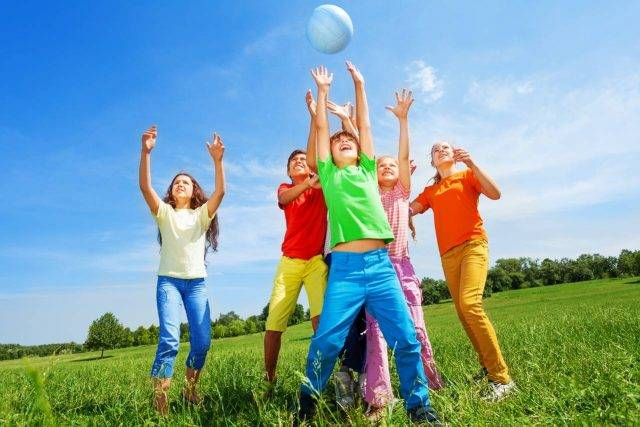 active children playing. Vision Therapy and ADD / ADHD at New Baltimore Optometry in New Baltimore, Michigan