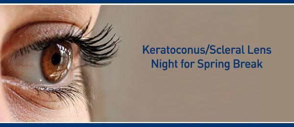 keratoconus night spring break