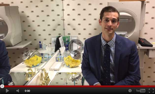 Dr. Matthew Shirley Talks about Hard Contact Lenses