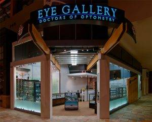 Eye Gallery in the Flatiron Crossing Mall - Broomfield, Colorado