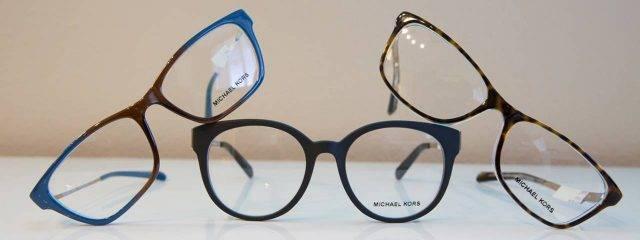 Eye care, three pairs of eyeglasses in Katy, TX