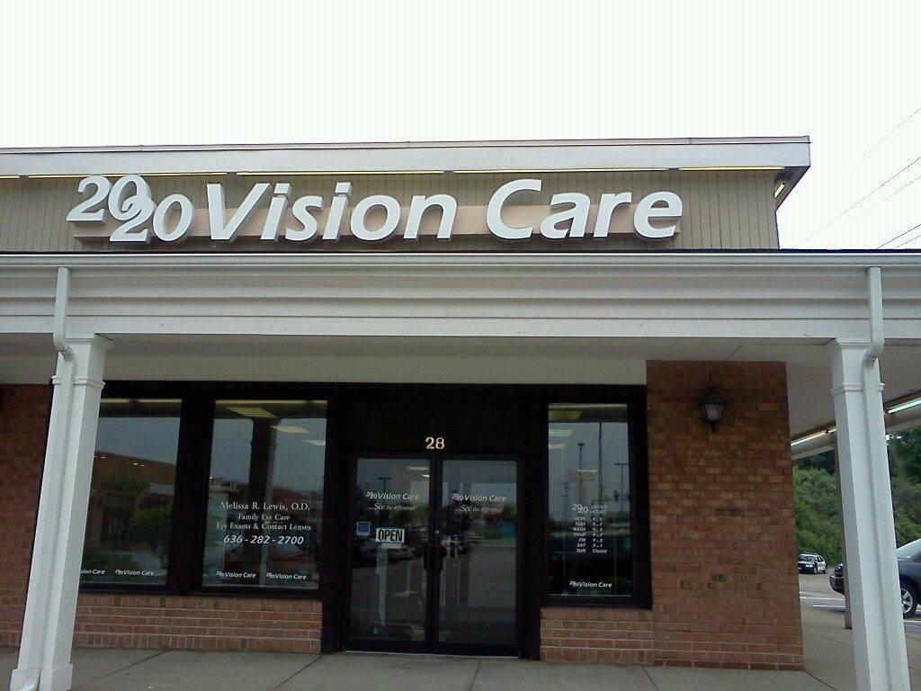 2020 Vision Care Arnold storefront