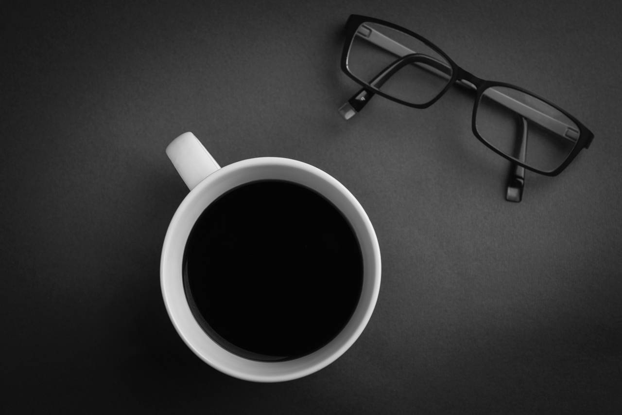 Black Coffee and Glasses 1280x853