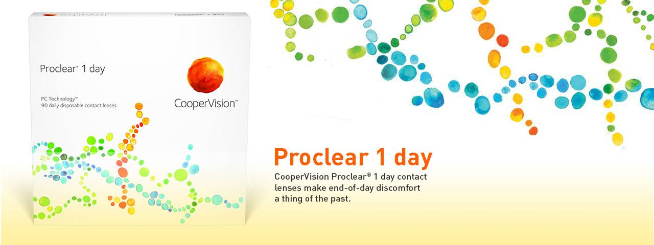 CooperVision Proclear 1 Day Contact Lenses at Southwest Family Eye Health Center in Fort Worth, Texas