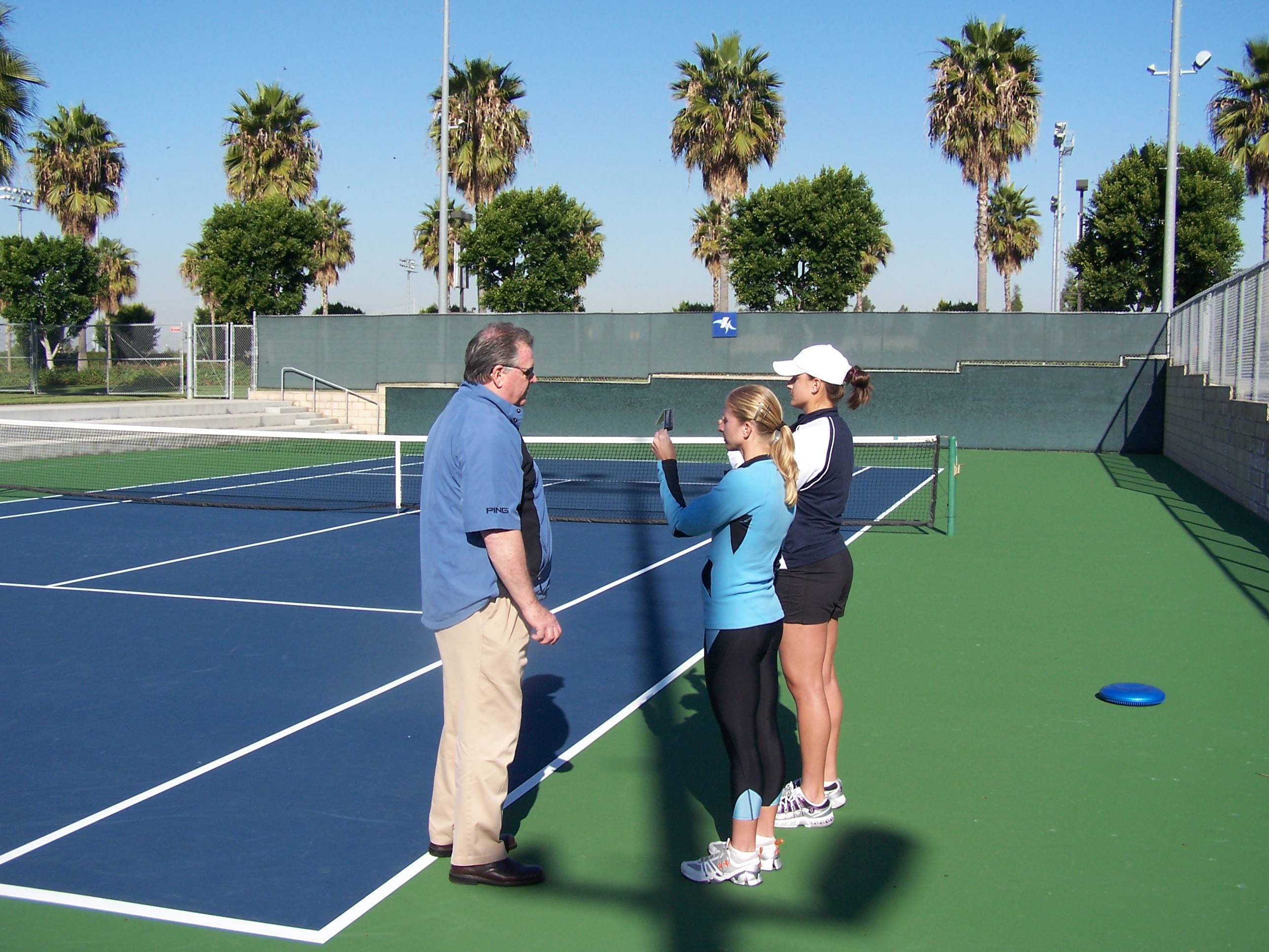 tennis sports vision enhancement Los Angeles and San Diego