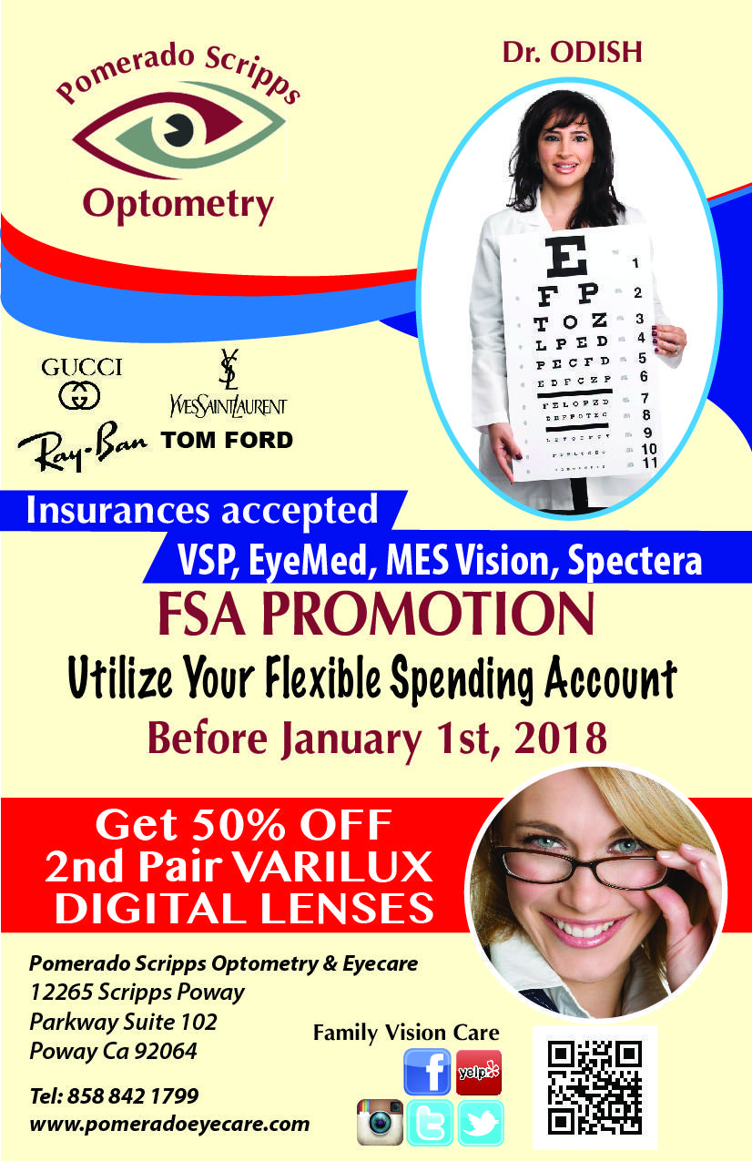 Pomerado Scripps Optometry 2017 BG flyer