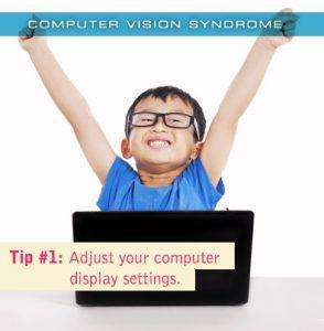 Colorado Springs eye doctor's computer vision syndrome Tip #1: Adjust your computer display settings
