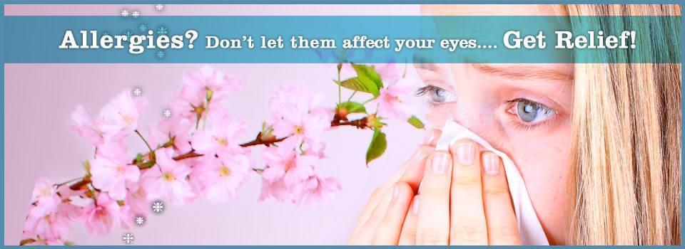 Eye allergies? Get relief