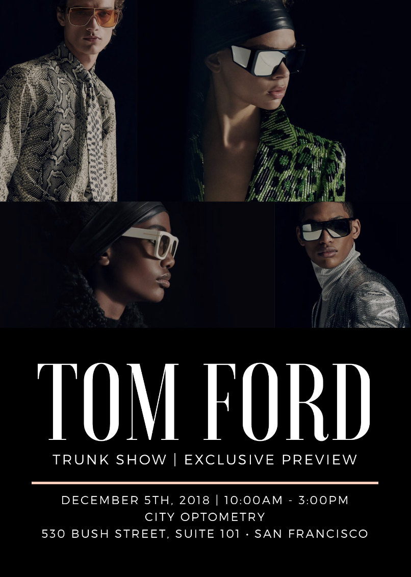 tomford trunkshow