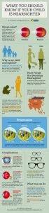 myopia facts infographic - kids eye exam Montrose, CA