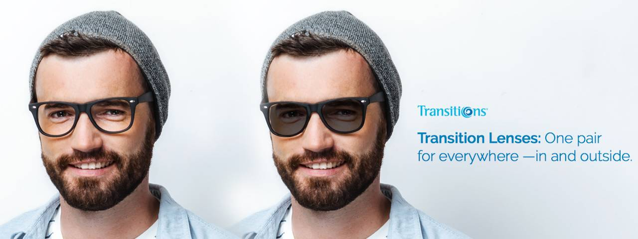 Book an Exam Today and get Transition lenses