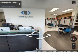 Clarin eye care virtual tour 1