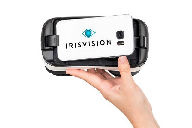 uses of irisvision in california