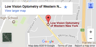 low vision optometry location map