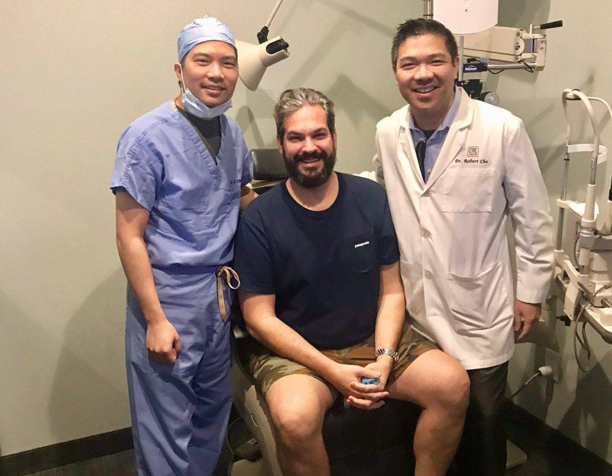 LASIK patient with dr richard chu