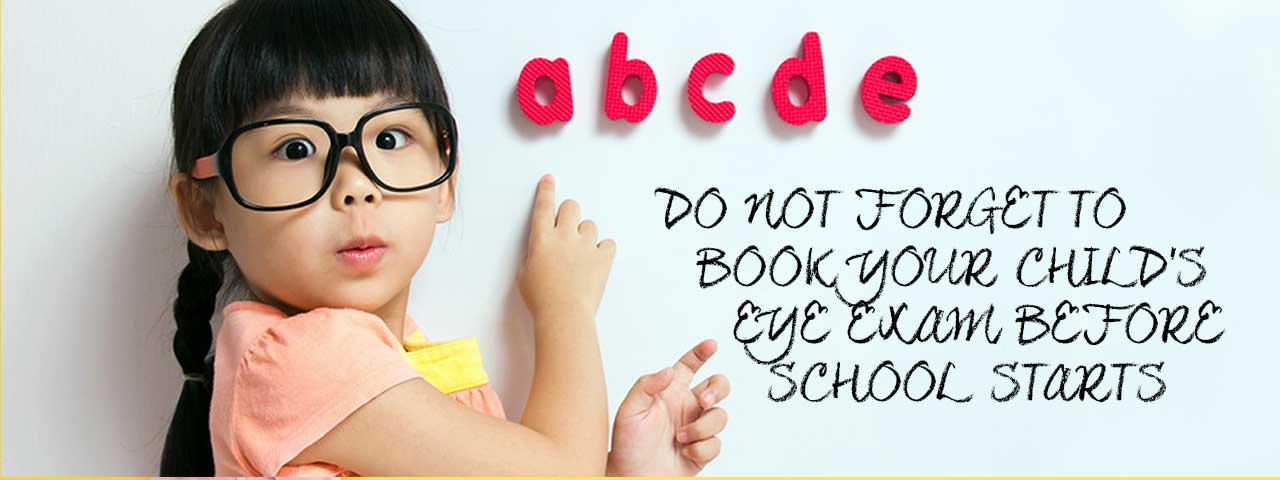 book your child's eye exam clarity eye care in Lombard, IL