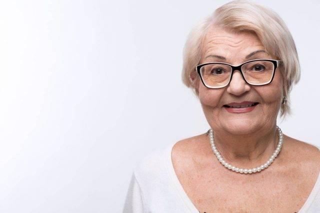 portrait older woman