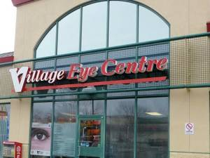 village eye sherwood park building