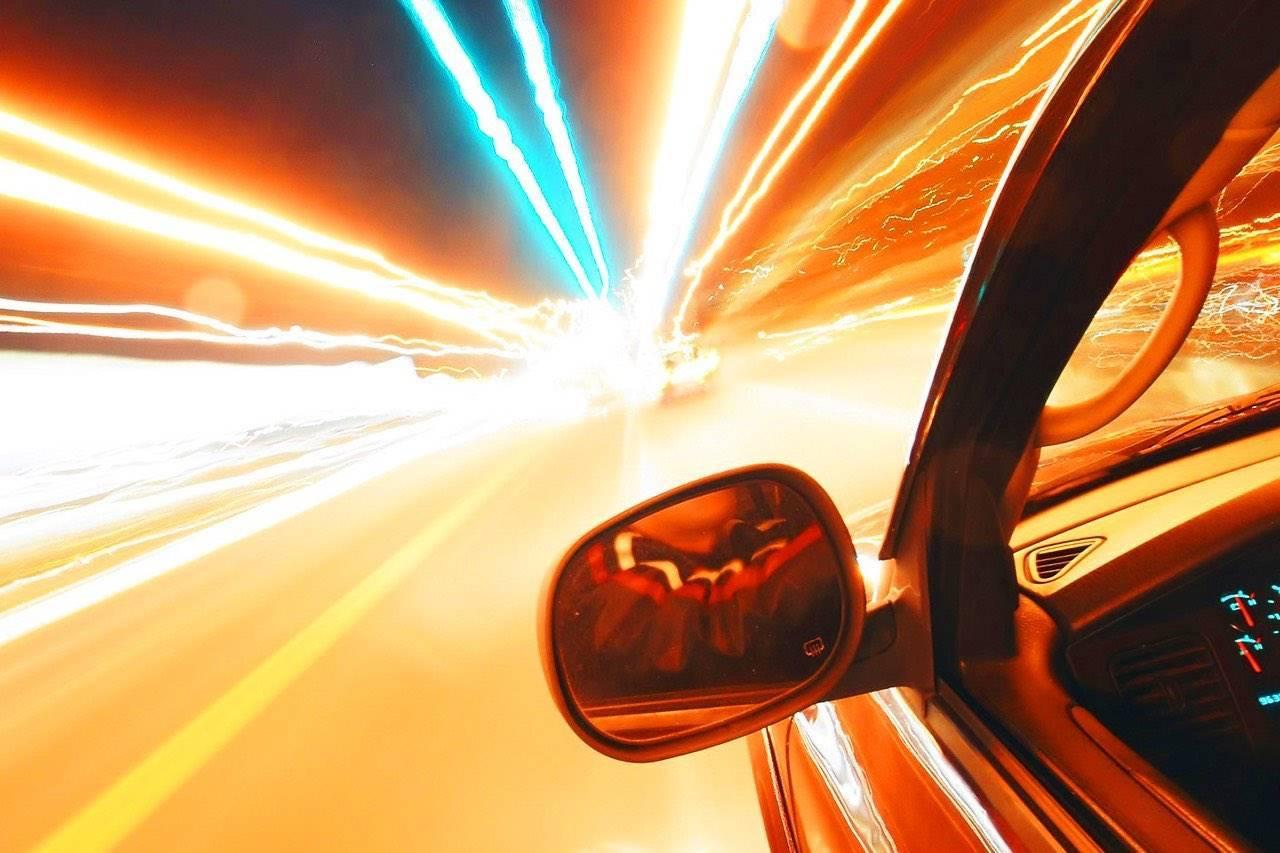 Car Illustration, Showing Sight With Macular Degeneration
