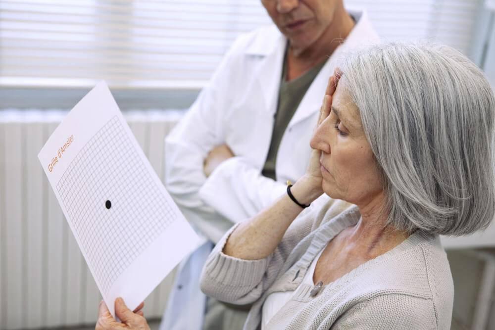 low vision patient