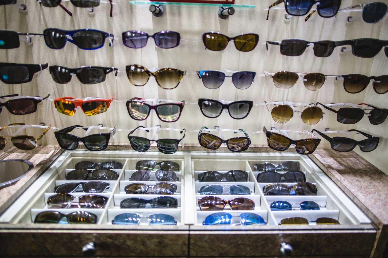 Designer Sunglasses at Indian Mound Eye Clinic in Heath, Ohio