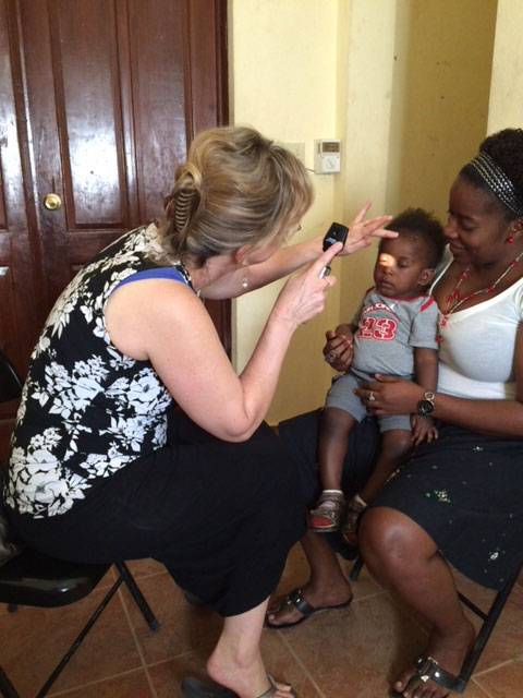 Indian Mound Eye Clinic Outreach in Haiti