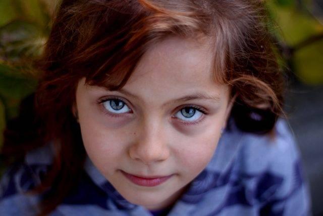 optometrist, little girl portrait with amblyopia in Tulsa, OK