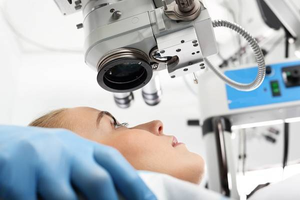 bigstock Eye doctor during the treatmen 105588281