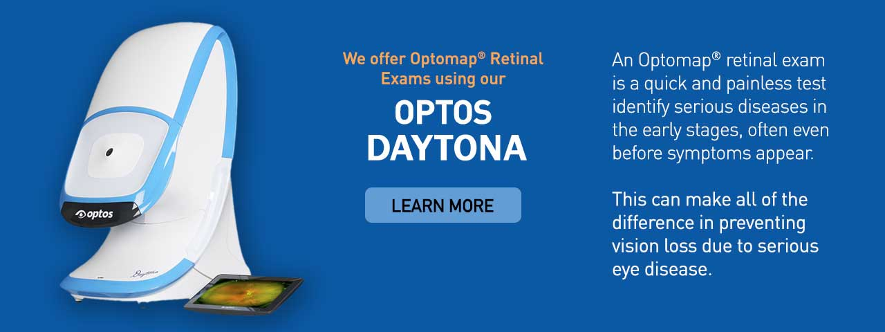 Optos Daytona Retinal Exam in Frisco, TX