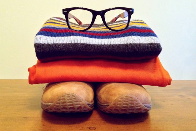 Clothing Pile Wearing Glasses1280x853 640x427