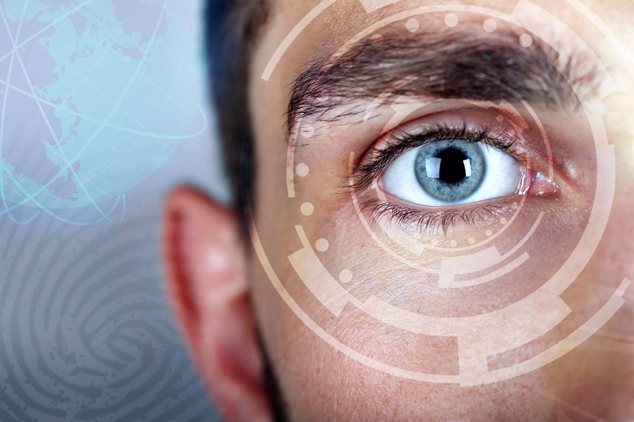 eye techology male