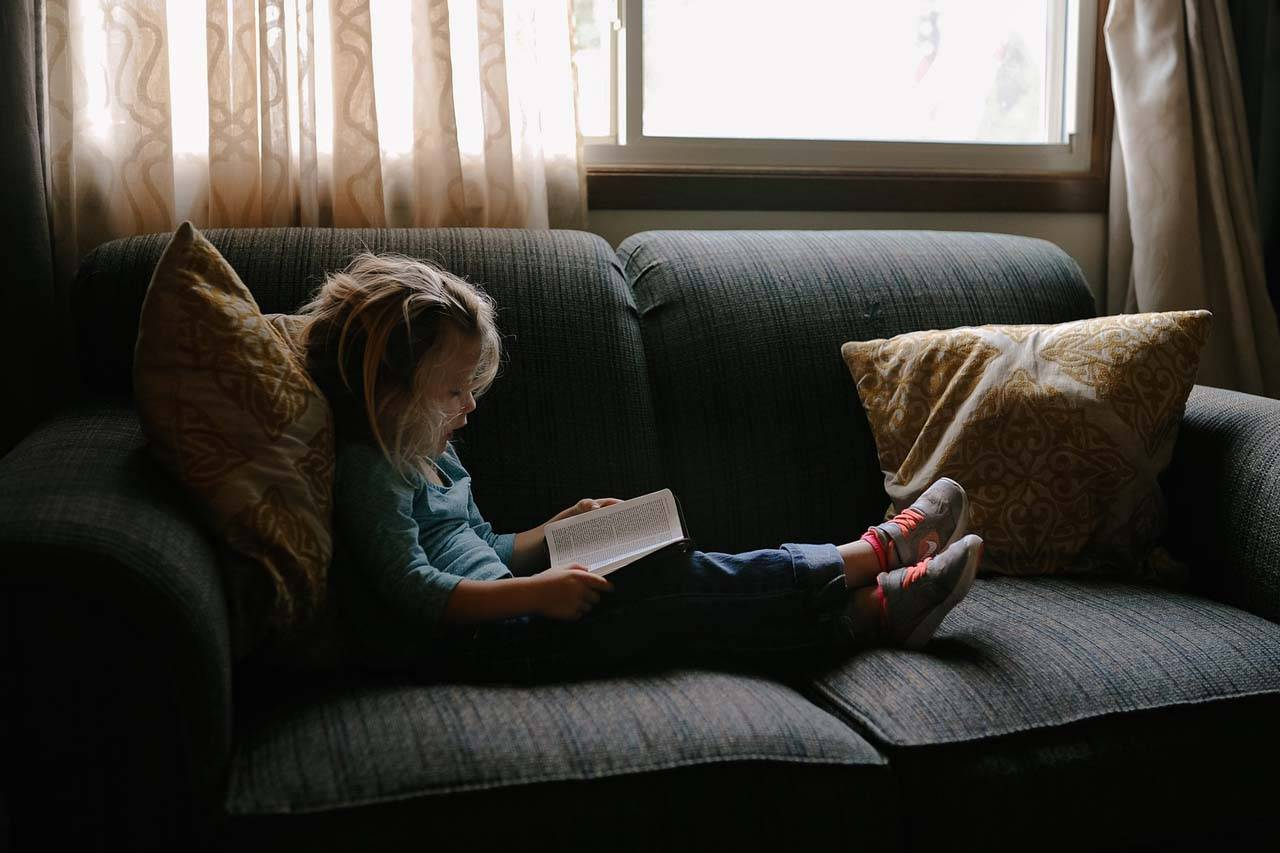 Young Child Book Couch 1280×853