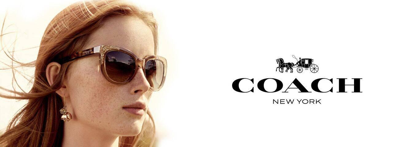 Eye Care, Woman Wearing Coach sunglasses in Lumberton, NJ.