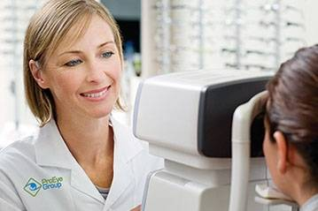 Eye Exam Optometrist