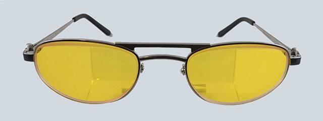 e-scoop women's yellow glasses