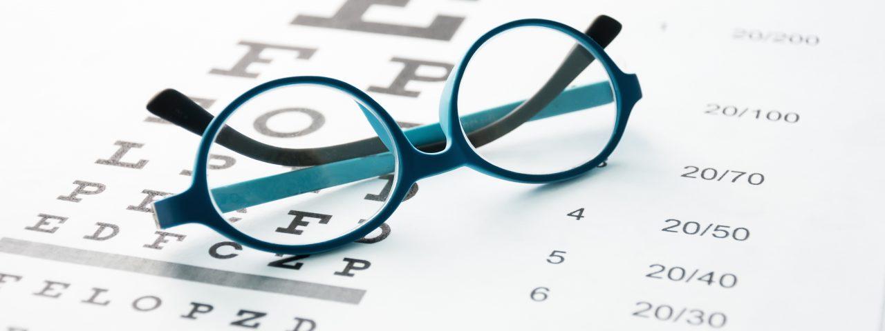 eyeglasses Orillia - Glasses on eye chart