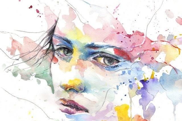 dry eye image