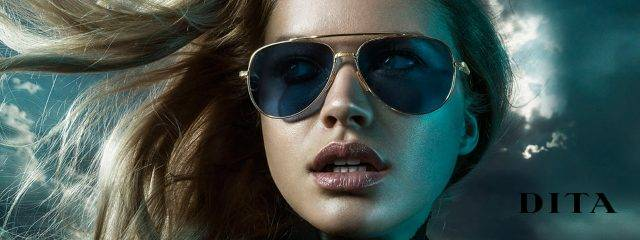 Optometrist, Woman Wearing DITA Eyeglasses in Philadelphia, PA.