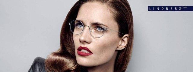 Optometrist, Woman Wearing Lindberg Eyeglasses in Philadelphia, PA