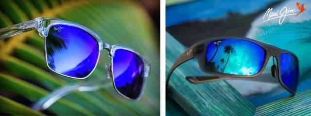 Eye Doctor, Man and Woman Wearing Maui Jim Sunglasses in Philadephia, PA