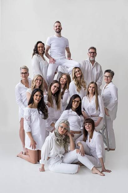 group white photo