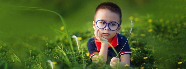 Optometrist, little asian boy wearing eyeglasses in Cromwell, CT